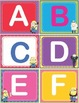 Minions ABC/123 Number and Letter Cards Shelf Labels