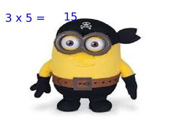 Minions Around the World Multiplication