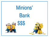 Minions Bank Sign