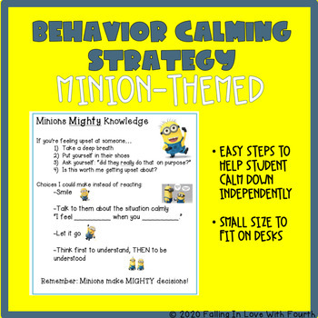 Minions Behavior Calming Strategy
