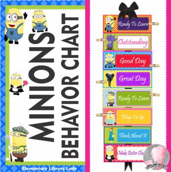 Minions Behavior Clip Chart - EDITABLE