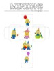Minions Inspired Birthday Roll and Graph Activity & Data Sheets
