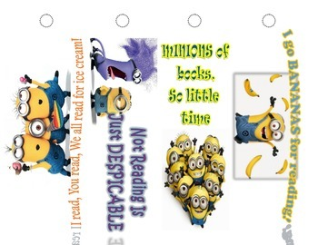 Minions Bookmarks