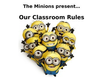 Minions Classroom Rules Posters Editable By Mrs Mays Tpt