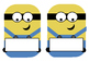 Minions Greek Alphabet Flash Cards and Name tags