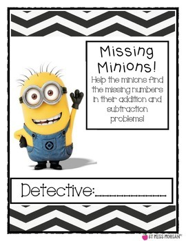 Minions Missing Numbers