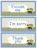 Minions Nice words