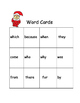 Elf Sight Word Lotto Read and Write High Frequency Words R