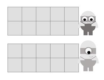 Minion Ten Frames