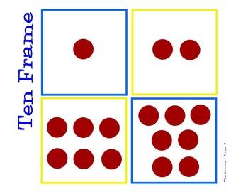 Minions Theme Ten Frame