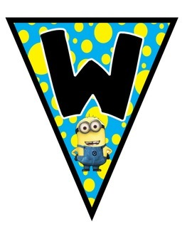 Minions Welcome Banner Poster