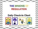 Minions of Regulation Daily Check-In Chart- Zones of Regulation companion