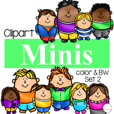 Minis Set 2 {Kid Clipart}