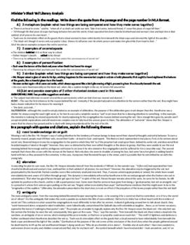 """""""The Minister's Black Veil"""" AP Homework Sheet"""