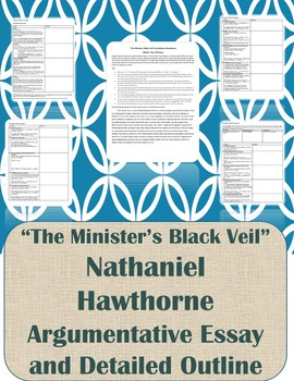 Minister's Black Veil Paper Prompt and Outline
