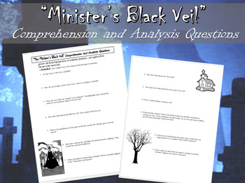 Minister's Black Veil Questions