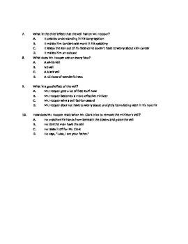 Minister's Black Veil Quiz