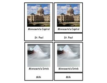 Minnesota 3 Part Cards