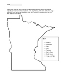 Minnesota Agriculture Map