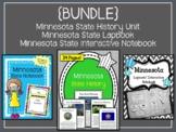 Minnesota {BUNDLE} State History Unit, Lapbook Set, & Stat