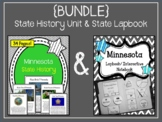 Minnesota {BUNDLE} State History Unit and Lapbook Set. US History