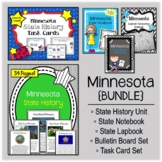 Minnesota Bundle. History Unit. Bulletin Board. Notebook.