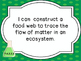 Minnesota Grade 7 Life Science  I Can Statements