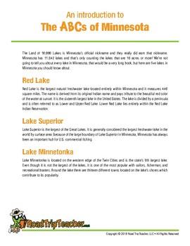 Minnesota Handwriting Printables - Cursive Edition