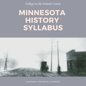 Minnesota History Syllabus