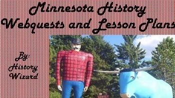 Minnesota History Webquests and Lesson Plan Collection