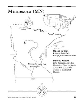 Minnesota (Map & Facts)