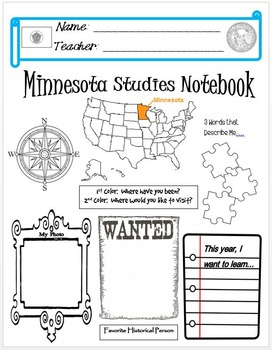 Minnesota Notebook Cover