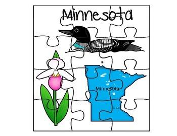 Minnesota Puzzle Set