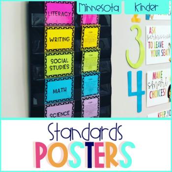 Minnesota Standards Bundle - Kindergarten