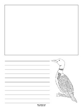 Minnesota State Bird Notebooking Set (Common Loon)
