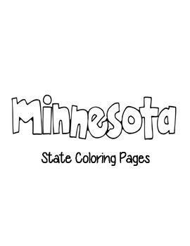 Minnesota State Coloring Pages