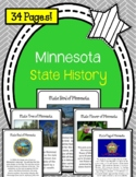 Minnesota. State History Unit. US State History. 34 Pages!