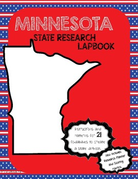Minnesota State Research Lapbook Interactive Project