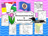 Minnesota State Study & Bulletin Board Set