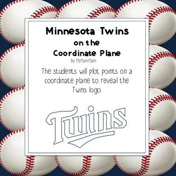Minnesota Twins Logo on the Coordinate Plane