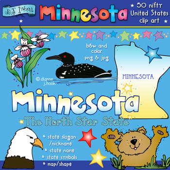 Minnesota USA Clip Art Download