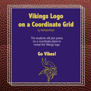 Minnesota Vikings Logo on the Coordinate Plane