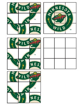 Minnesota WILD hockey cutter