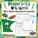 Minnesota Webquest Common Core Research Mini Book