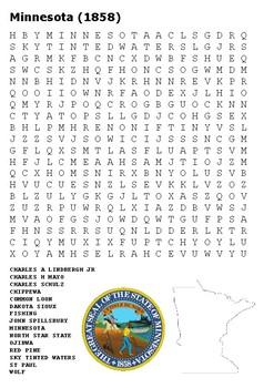 Minnesota Word Search