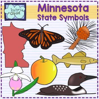 Minnesota State Symbols Clipart By Teachers Clipart Tpt