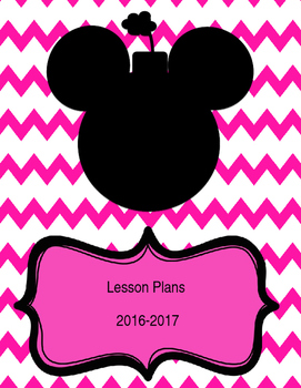 Minnie Mouse Teacher Binder Covers