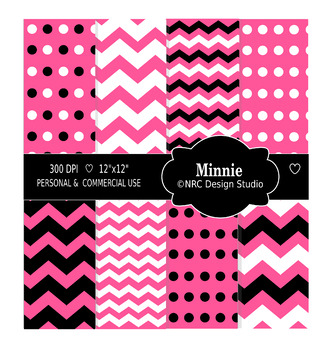 Minnie Paper Pack