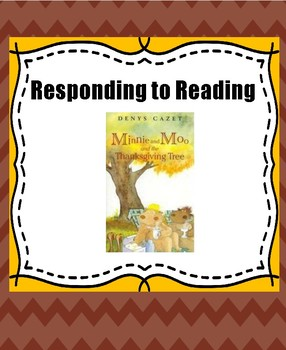Minnie and Moo Reading Response