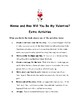 Minnie and Moo: Will You Be My Valentine? By Denys Cazet Comprehension Packet